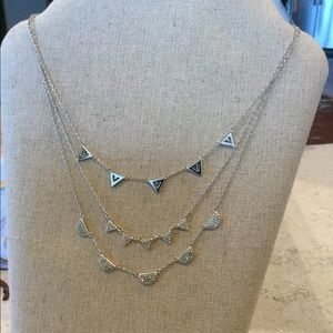 Versatile Silver Stella & Dot Necklace